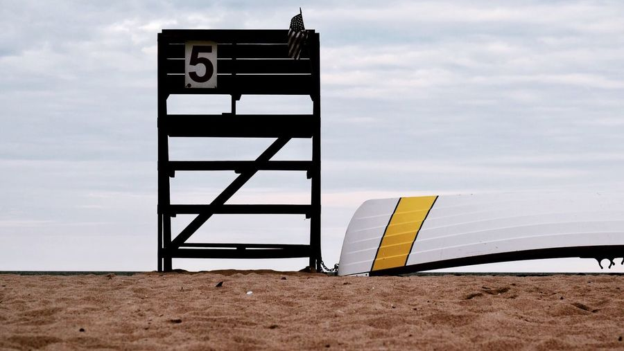 -Off~Duty- Off Duty Lifeguard  Beach Beachphotography Down Low No People Minimals Minimalism Simplicity