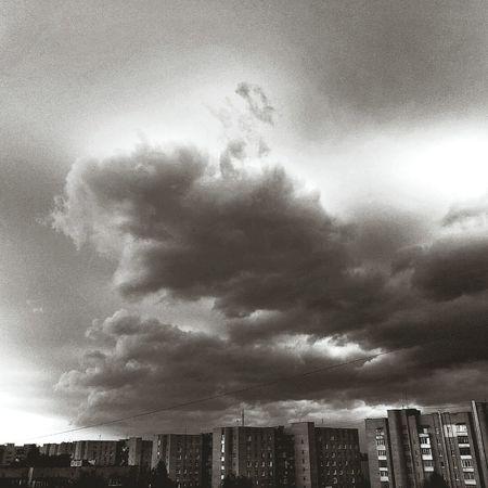 Before the storm. Storm Cloud Dark City Lutsk First Eyeem Photo