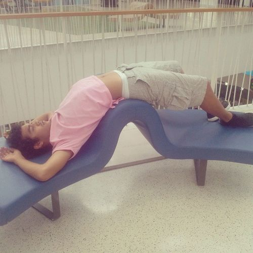 Let me just rest for a bit bro Tired Atthemall Weirdchair Verycomfortable ah gaaaaayyy