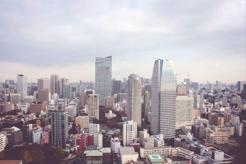 Japan Tokyo Skyscrapers Amazing View