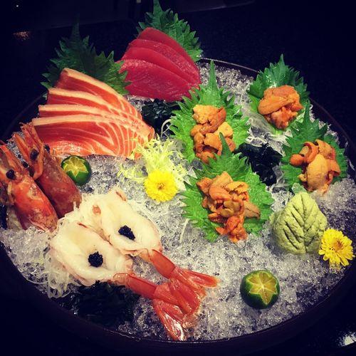 Sushi Nigiri Nigiri Sushi Sushitime Salmon Hokkaido Uni Tona Shrimp Japen Japanese  Japanese Food Taiwan Taichung