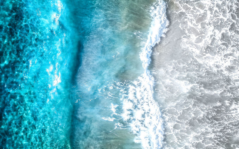 A split of wave