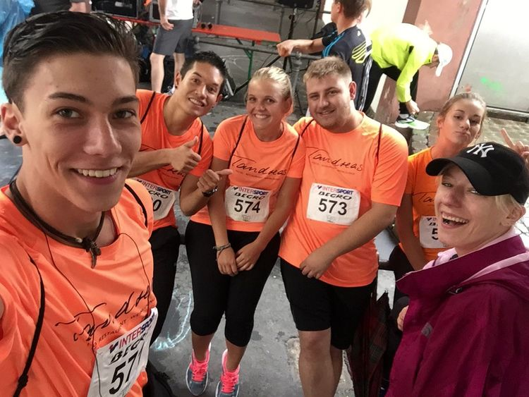 Stadtfest Run4help Selfie ✌ Giessen Germany Run For Help