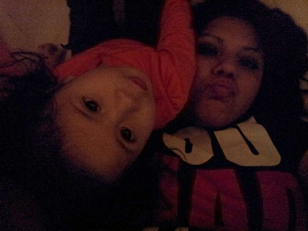 & she still up when she knws is passed her bed time lol(: