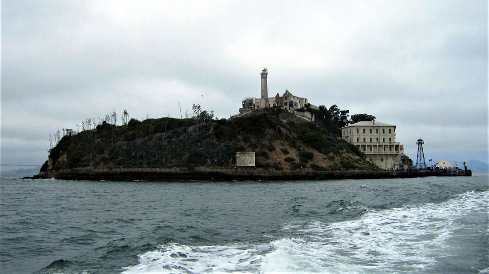 Alcatraz Island. Alcatraz Alcatraz Island Bay Area California Federal Penitentiary Jail San Francisco Abandoned Bay Golden Gate National Recreation Area Island National Park Service Prison Tourism Water