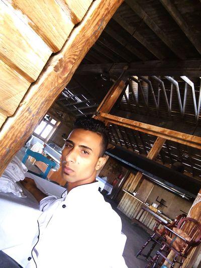 Me in el sayaden restorant Hello World