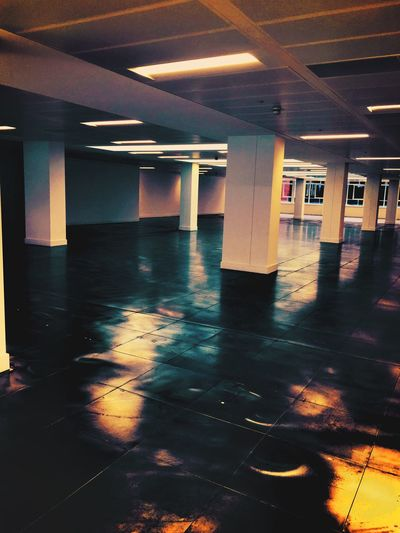 Office Building Office Architecture Office Floor Empty Floor Vacant Metal Floor Empty Opportunity