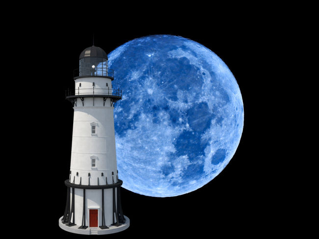 Architecture Astronomy Black Background Building Building Exterior Built Structure Direction Global Communications Guidance Lighthouse Moon Nature Night No People Outdoors Planet - Space Security Sky Space Tower Travel