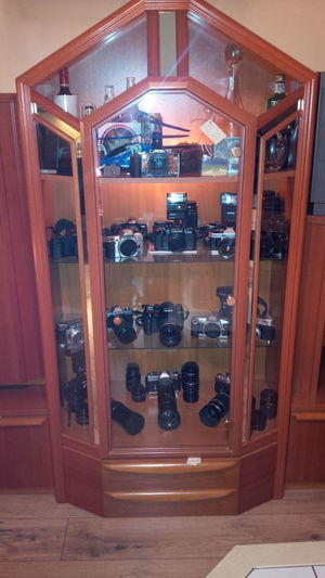 A small part of my collection Analogous Colors Camera - Photographic Equipment Camera Work Day First Eyeem Photo Indoors  No People