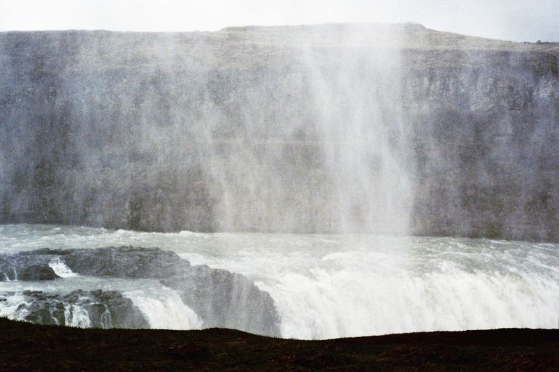 Water Waterfall Nature Beauty In Nature Outdoors Day Iceland Travel Destinations Mist Adventure Travel Lost In The Landscape