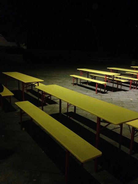 Empty Illuminated Night No People Outdoors Seat Sport Week On Eyeem #FREIHEITBERLIN