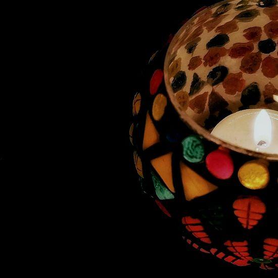 Diya Tea Candle Lamp Colorful Turkish Lamp Black Welcome To Black