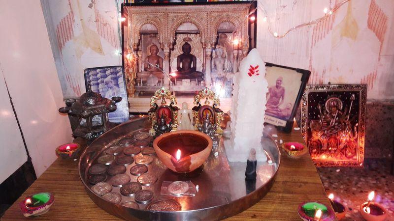 Diwali Illuminated Lighting Equipment Heat - Temperature Burning No People Flame