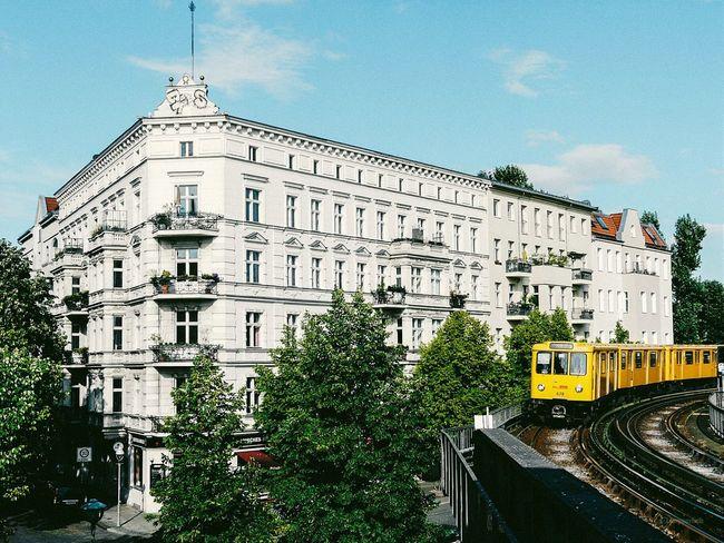 Classic view from station Schlesisches Tor Berlin Kreuzberg Schlesisches Tor Ubahn BuildingPorn Architecture