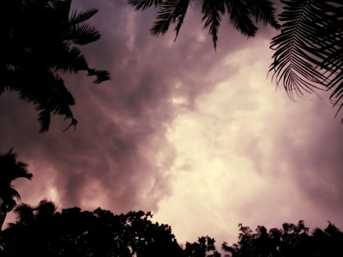 Before rains, clouds