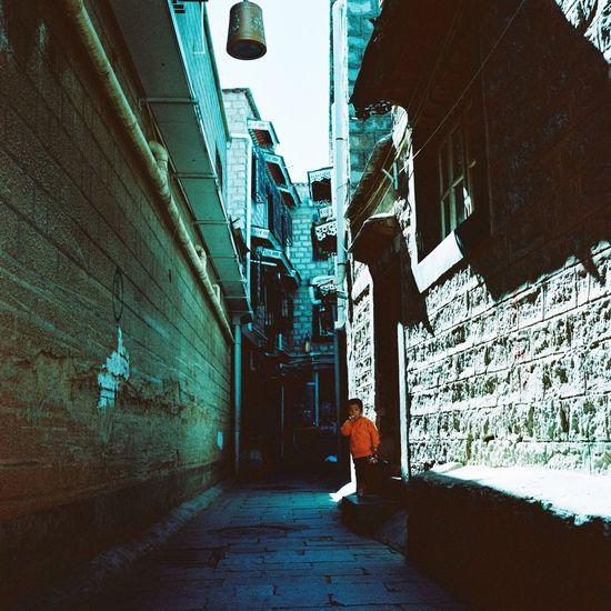 拉萨 Lhasa lha Rolleiflex