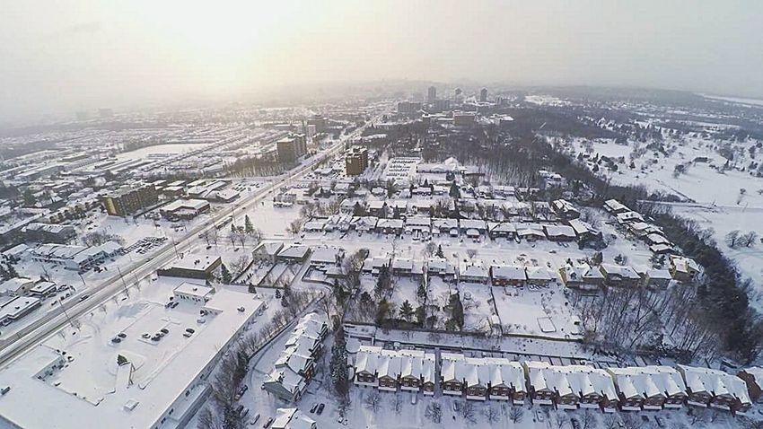 Ottawa Aerial Photos Photo Aérienne Winter Wonderland