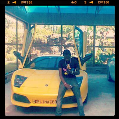 Instagramflexin ButterfliesToday Lamborgini  TEAMbigstunna couldn't help to poz on it..Swerve...