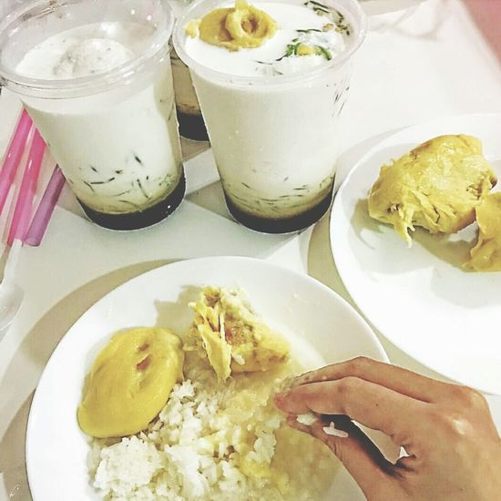 Durian Fruit With Cendol Ice 🎈👻