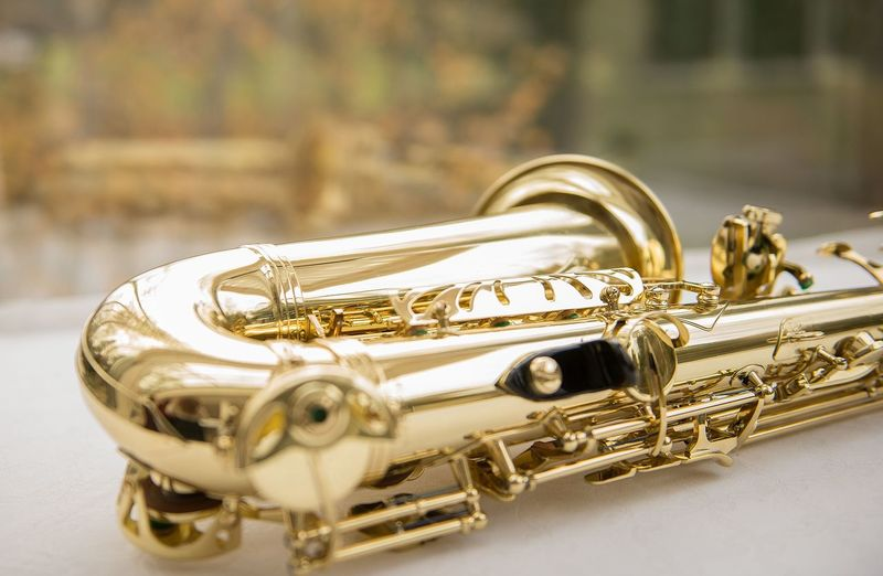 Arts Culture And Entertainment Brass Brass Instrument  Classical Music Close-up Day Gold Gold Colored Golden Saxophone Jazz Music Music Musical Equipment Musical Instrument No People Saxophone Shiny Trumpet Wind Instrument