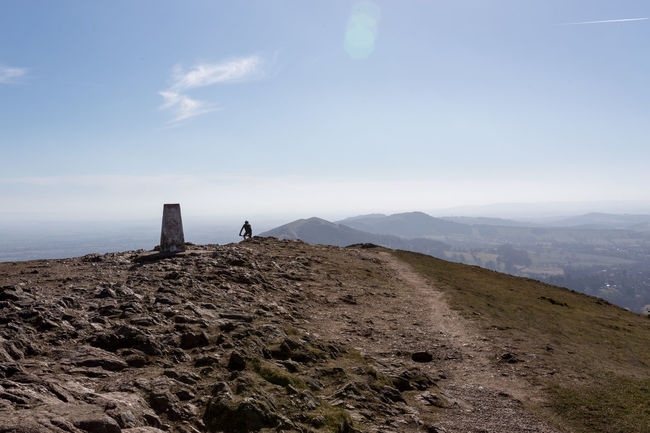 Beauty In Nature Day Landscape Malvern Hills Nature No People Outdoors Sky Trig Point