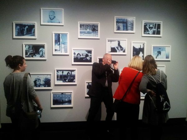 EyeEm Best Shots Moments Taking Photos Of People Taking Photos Exhibition Anton Corbijn