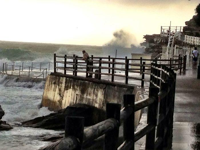 Early Morning On Bronte Beach Sydney