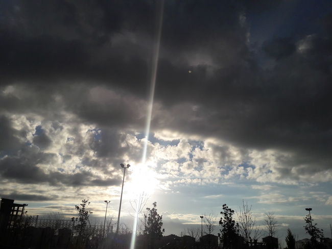 Cloudy Sun Cold So High EyeEm Best Shots EyeEmNewHere Cloud - Sky Sky Nature No People Outdoors Storm Cloud Thunderstorm