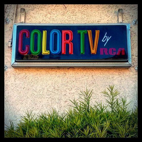 Colortv Eaglerock Motel Vintagesigns Pasadena  Rosebowl Losangeles Coloradoboulevard