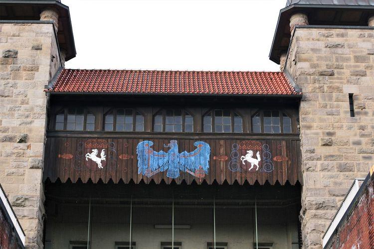 Architecture Building Exterior Built Structure Hebewerkbrücke Industry Culture Schiffshebewerk Henrichenburg