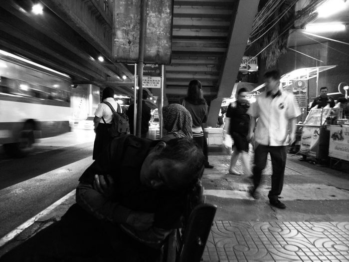 Men Real People People Streetphotography Streetphoto_bw Blackandwhite Smart Phone City Life Loneliness The Street Photographer - 2017 EyeEm Awards