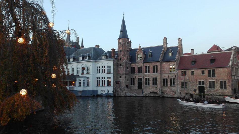 Brugge, Belgium Venise Du Nord Boats⛵️ Water Travel Destinations Building Exterior