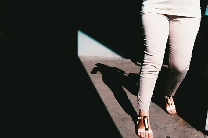Shadow One Person The City Light Human Body Part Focus On Shadow People Young Women Check This Out The Week On Eyem Women Around The World Break The Mold The Street Photographer - 2017 EyeEm Awards BYOPaper!