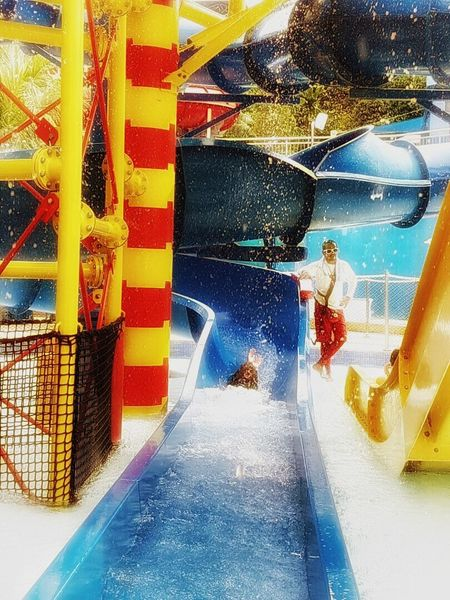 At Legoland Malaysia Real People Waterparkfun Theme Park Funtime Happy People