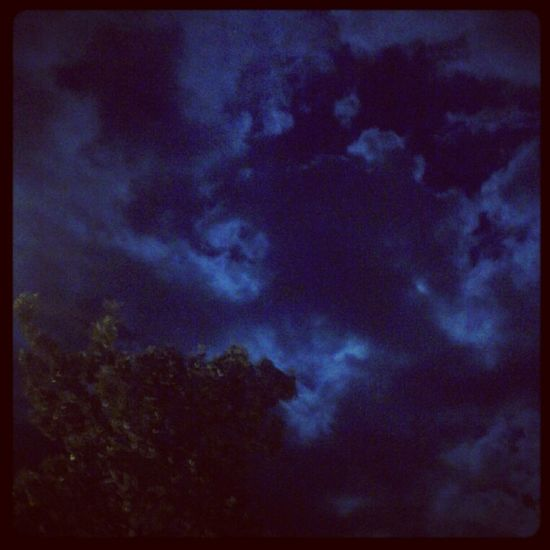 That sky last night. <3