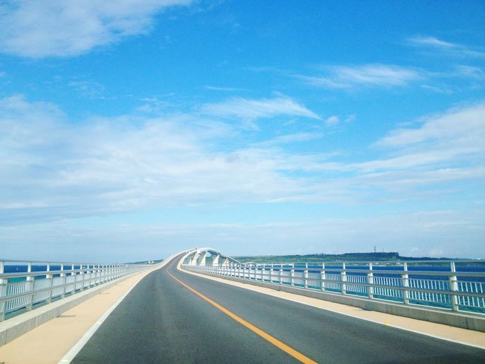 宮古島 OKINAWA, JAPAN Miyakojima Sky Beautiful Road Beautiful Blue