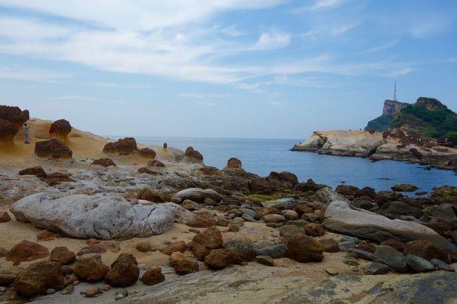 Yehliu, Taiwan First Eyeem Photo Yeliugeopark Rocks Blue Sky Seashore EyeEmNewHere The Great Outdoors - 2017 EyeEm Awards