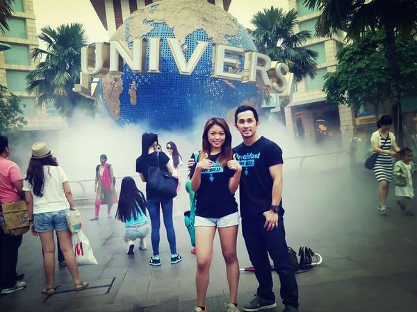 Singapore tour Tbt ☺ Universal Studio Singapore