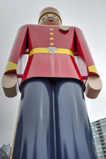 Day Low Angle View No People Outdoors Sky Tin Soldier