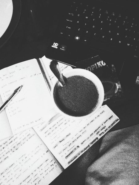 Come here you cup of beautiful coffee and lie to me about how much were going to get done tonight. Finalsweek Psychology Blackandwhite Photography Nervous Solitude Eyebagsforlife NoFearJustHope Cramming Coffee
