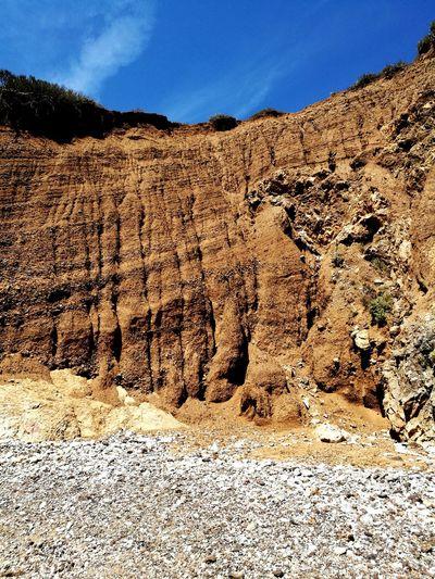 EyeEm Selects Sand Outdoors Landscape Nature Arid Climate Sand Dune Ground Walls Isola D'Elba  Caletta Barbarossa Rock - Object Beach