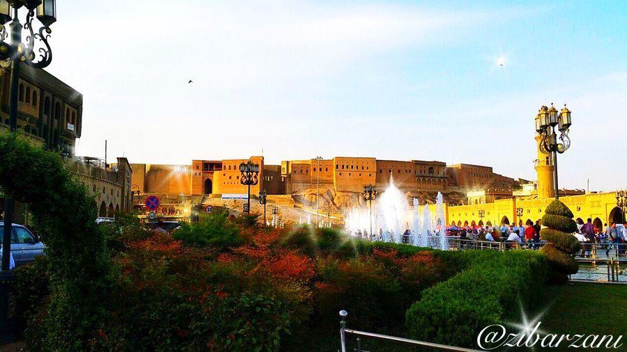 Mylovelycity Amazingcity Amazing View Amazingpeople Erbil-Kurdistan PhotoByMe Photooftheday -XOXO!  Mycity erbil Castle Oldcity