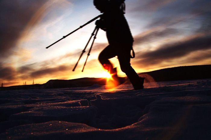 sunrise on snow Taking Photos Trave Sunrise Pho Landscape Landscape_Collection