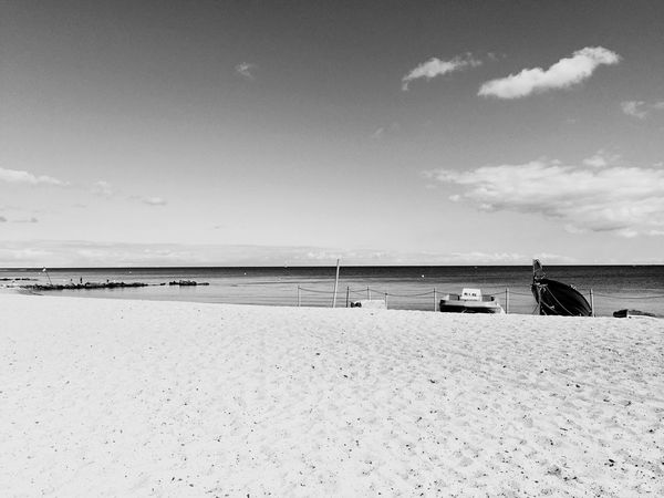 Beach Sea Water Sand Sky Tranquil Scene Tranquility Horizon Over Water Nature Day Scenics Beauty In Nature Outdoors Cloud - Sky No People Waabs Ostsee