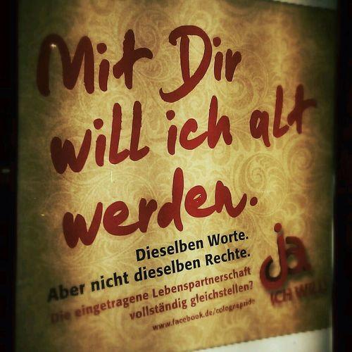 Ja, ich will. #CSD #Cologne #CGN #ColognePride #Koeln #Köln #Plakat #Poster #LGBT