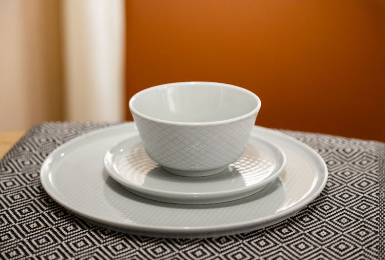 Crockery Food And Drink Drink Indoors  Cup Plate Close-up White Color Coffee Cup Empty Tea Cup Table
