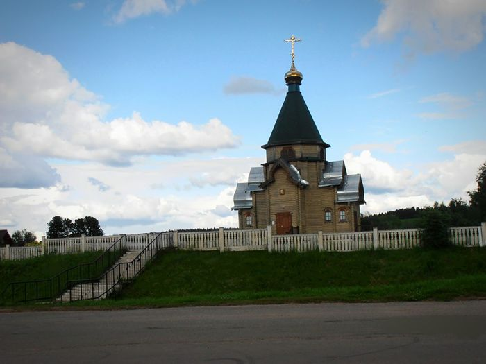 Церковь- новодел в селе Бобино Jesus Loves You Kilise Kirche Russia Temple Architecture Landscape_Collection храм Church Architecture Religion Temple