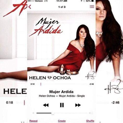 """Por Final I Download Mi Mas Favorita Canción """"Mujer Ardida""""🎶💔💀! de esta Hermosa,Chula y Mejor Guapa Mujer Cantante de @helen_ochoa 💙✌️😘🎤! I Love You @helen_ochoa 💙💄😘! Siempre voy apoyar a esta Mujer Hermosa de @helen_ochoa 💙💋! Puro Gerencia 3⃣6⃣0⃣🔵💯👊 Saludos @helen_ochoa ✌️💯💙 Puro Gerencia360 🔵👊💯 Cancion MujerArdida 💄🎶💔 Iloveyou @helen_ochoa 💙H8A 🎤💙💋 TeQuieroMucho ✌️💙 FromYour FavortiaFan @mmontoya1 😘💙✌️🎤💯"""
