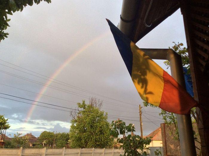 Beautiful rainbow! Loving This Weather