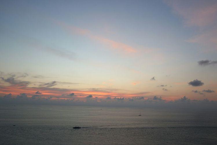 Sea Sunset Low